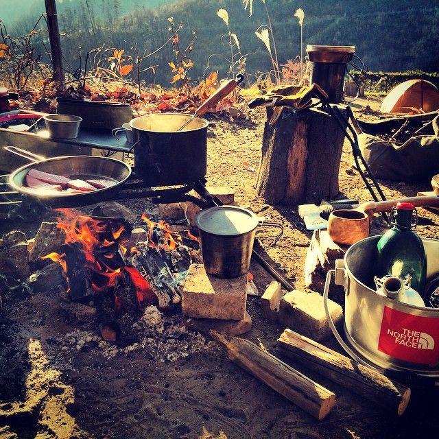 キャンプ道具 焚火
