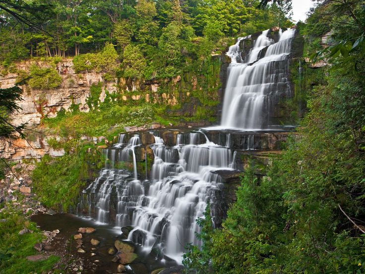 NY Trip - Chittenango Falls, Syracuse, NY. Definitely one of the most beautiful water falls I have seen