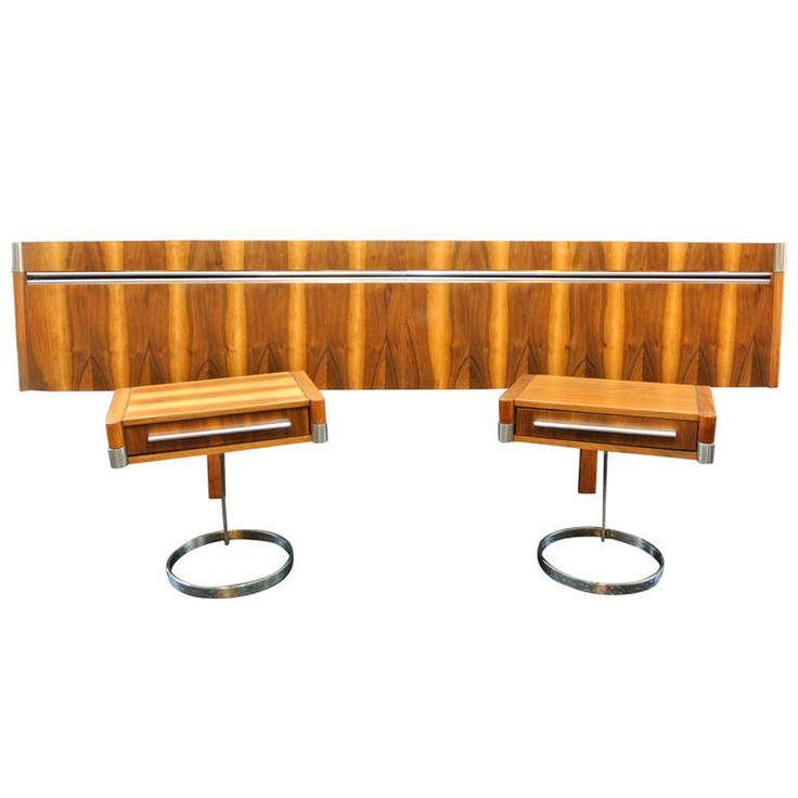 1stdibs.com | Boris Tabacoff Bed Set