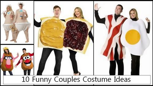 best halloween costumes 2014 myo diy | 10 Funny Couples Costume Ideas Consist Of The Bacon And Eggs, The Jam ...