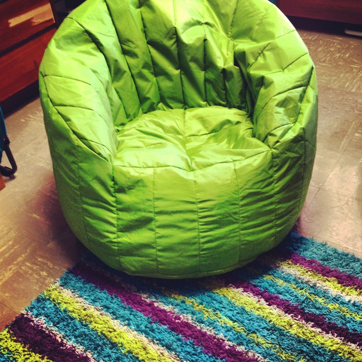 Bean Bag Chair Perfect For Dorm Room Lounging
