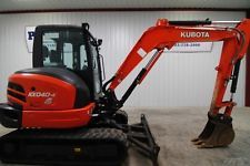 2015 KUBOTA KX040-4R3 TRACK CAB EXCAVATOR AC/HEAT/RADIO 993 HRS! apply to finance www.bncfin.com/apply excavators for sale - excavator financing