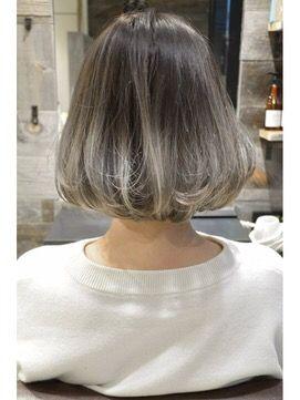 グラデーション グレージュ パールグレージュ ヘアカラー 髪色 外国人風 ブリーチ ハイトーン – Ryutahasegawa's Blog