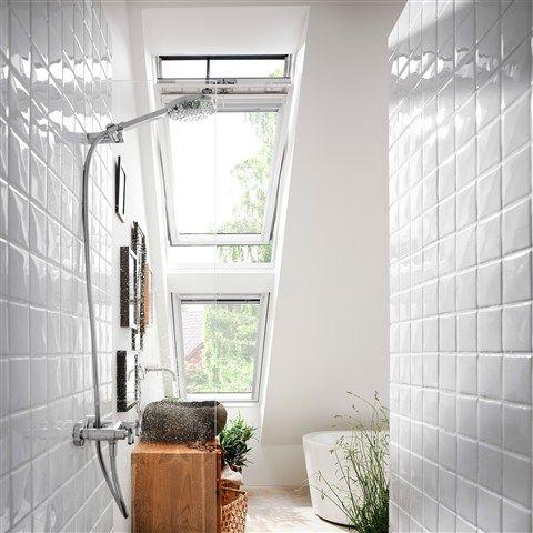 bathroom, #velux