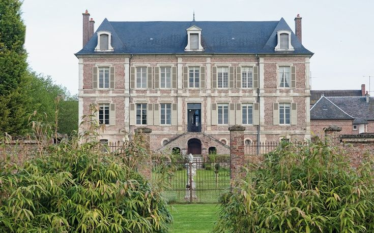 French house exterior Exteriors Pinterest Mansions