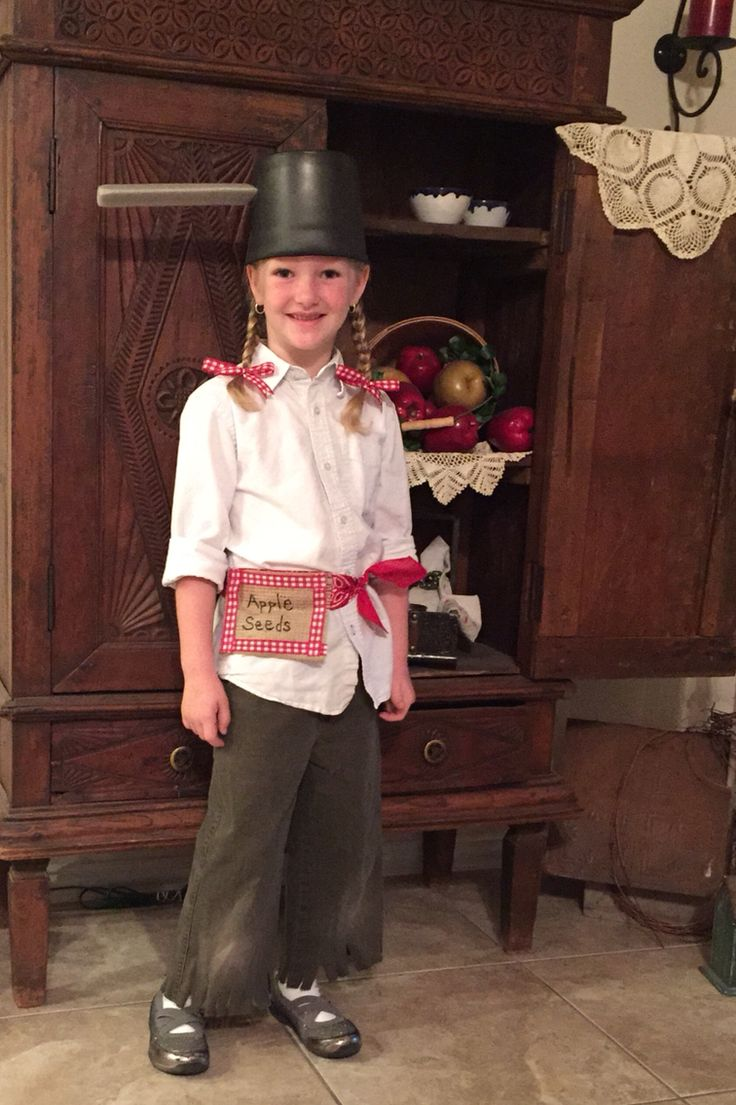 Our little Johnny Appleseed!!