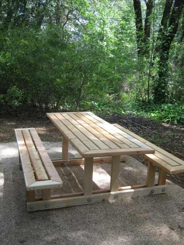 Picnic Table Yard Stuff Picnic table plans, Picnic