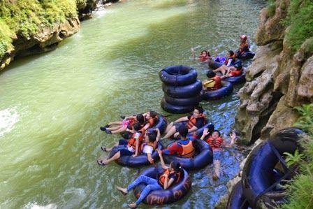 Wisata Goa Pindul Jogja Ramai Pengunjung