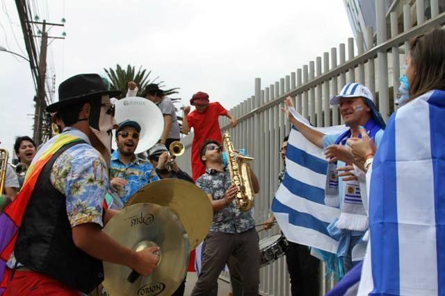 Pasacalle Copa América Antofagasta