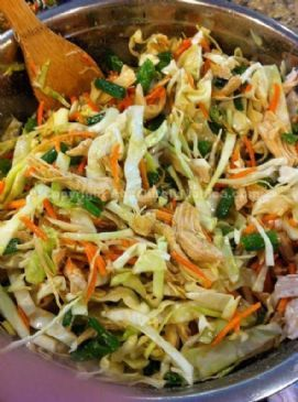 Asian Chicken Salad | via @SparkPeople