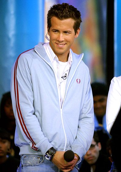 April 4, 2002  0  The Van Wilder actor took over TRL hosting duties from Carson Daly during the now-defunct MTV show's celebrity guest host week.      Read more: http://www.usmagazine.com/entertainment/pictures/ryan-reynolds-hotness-evolution-20112110/17933#ixzz2LBQ8nw00