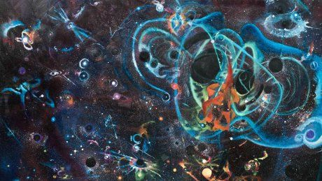 Artwork inspired by gravitational wave discovery - News - Cardiff University