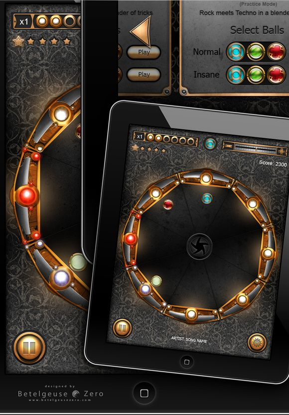 Game design for iPad...