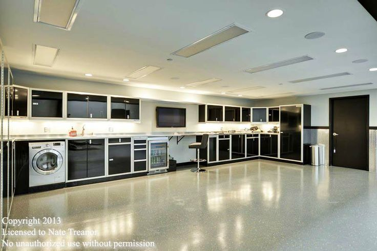Garage Condo In Mn That Features These Moduline Cabinets
