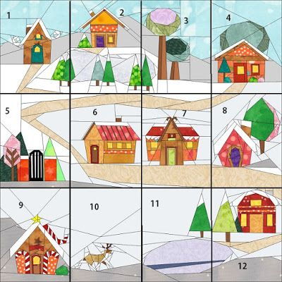 Quilt Art Designs: 5th Day of our Twelve Days of Christmas