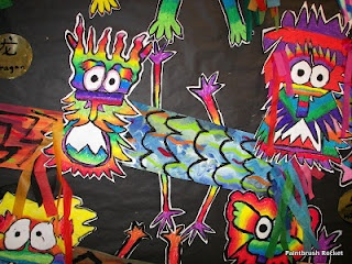 Paintbrush Rocket: 5th Grade - The Year of the Dragon