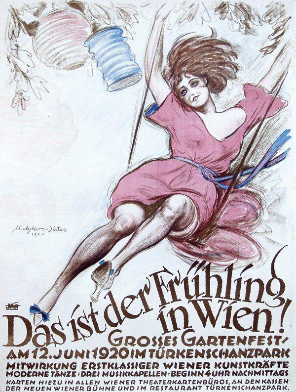 Theo Matejko & Marcel Vertès, Das ist dFruehling in Wien ...