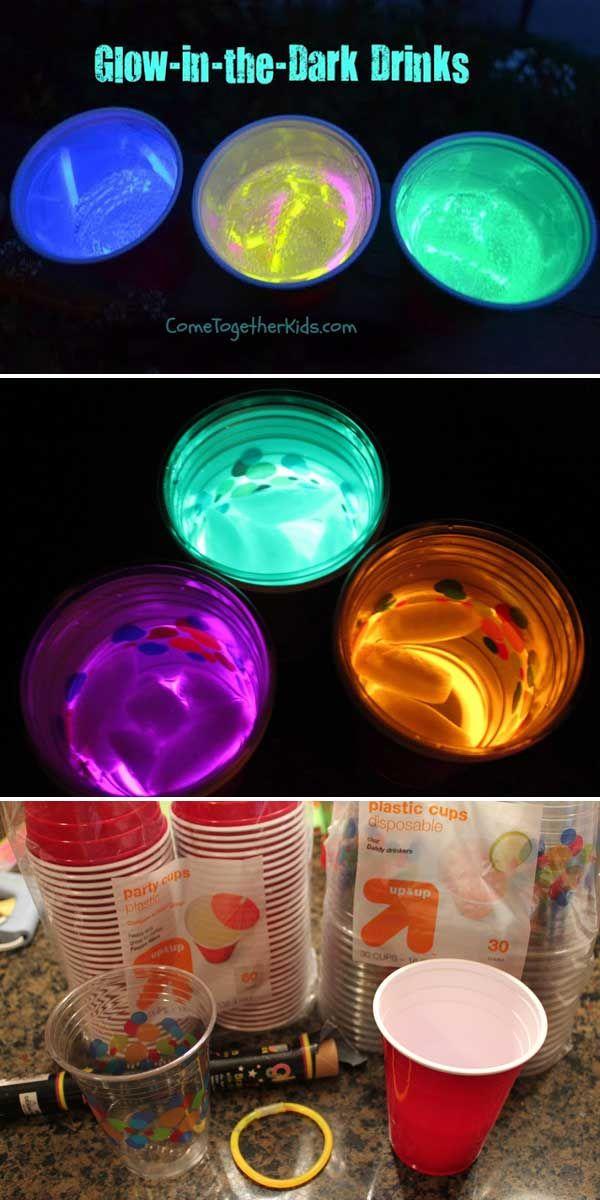 Glow In The Dark Decoration Ideas best 25+ glow party decorations ideas on pinterest | diy