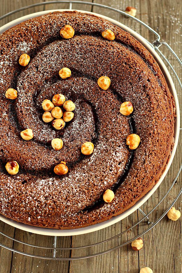 Chiarapassion: Torta morbida cioccolato e nocciole