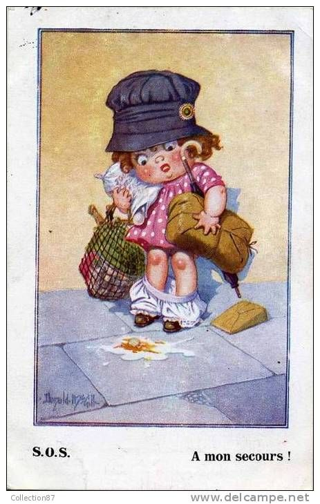 Cartes Postales / mac gill - Delcampe.fr | Carte postale, Cartes postales anciennes, Postale