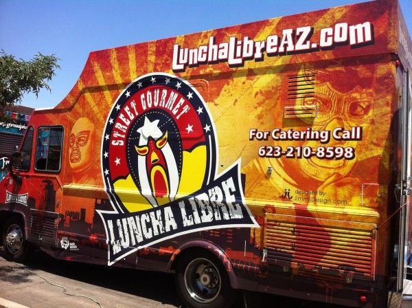 Luncha Libre is one of the newer local food trucks on the scene and specializes in Arizona inspired food, using local ingredients.