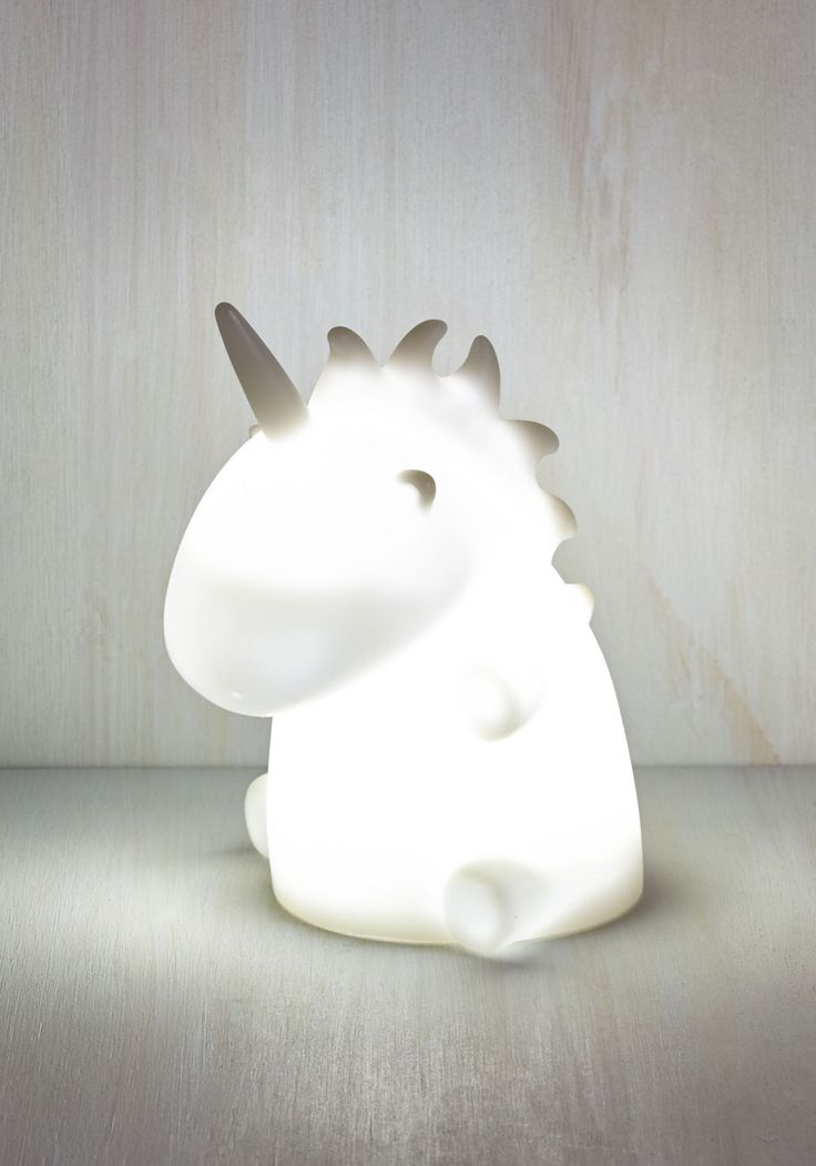 It's All For Unicorn Light. Adorably illuminate your space with this ambient unicorn light! #white #modcloth