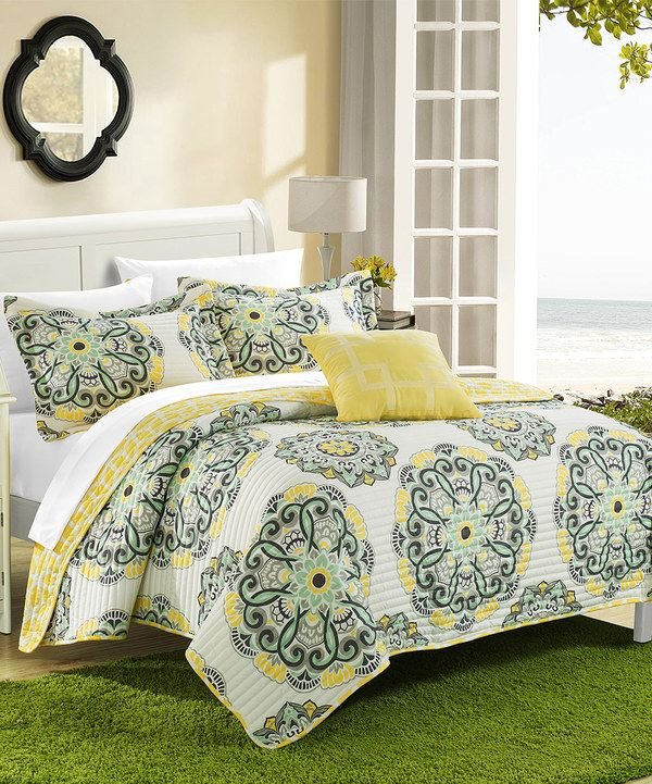 home design bedding. Another great find on Yellow Santiago Reversible Quilt Set by Chic Home  Design 79 best Bedding images Pinterest Comforter sets and