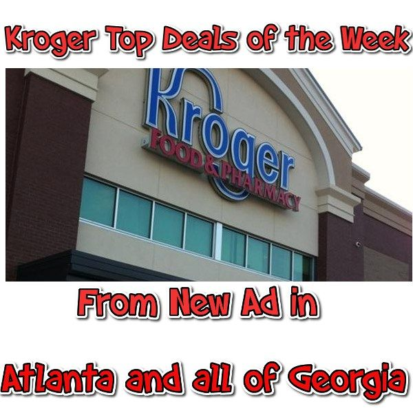 Kroger Top Deals Atlanta 9/21 thru 9/27 Freebies and Cheapies - http://couponsdowork.com/kroger-grocery-store/kroger-atlanta-top-weekly-deals-921927/