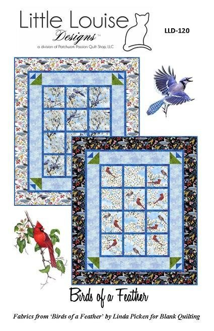 Quilt Pattern  Birds Of A Feather Quilt or Wall Hanging