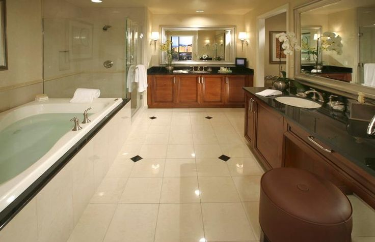 Signature Deluxe Suite Bathroom The Signature at MGM Grand