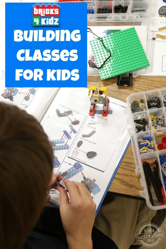 Have your kids ever gone to a building class?