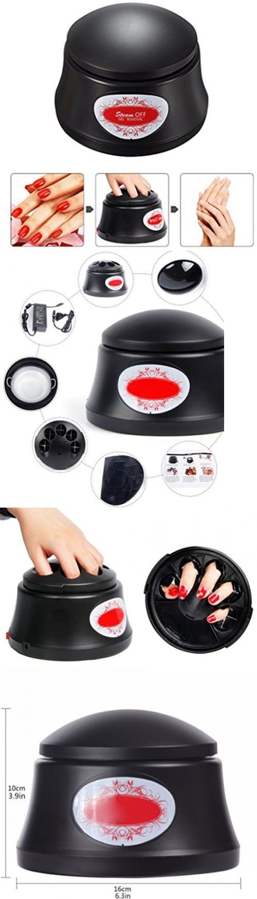 Nail Polish Remover: Bluetop Gel Nail Polish Remover Nail Resurrection Machine (Electric,Black) BUY IT NOW ONLY: $79.59