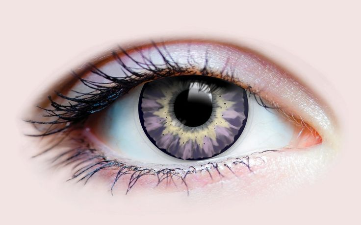 Delightful Lilac – Primal Contact Lenses