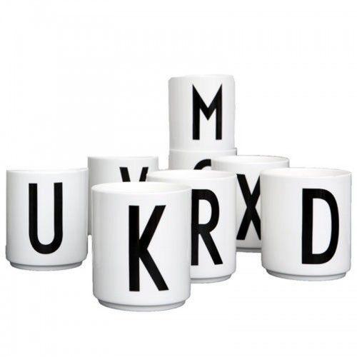 Design Letters Arne Jacobsen Vintage ABC Cups