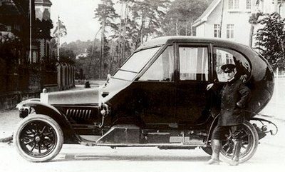 """1912 Opel Coupe Special """"The Egg"""""""