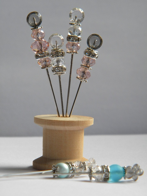 Sparkly Stick Pins
