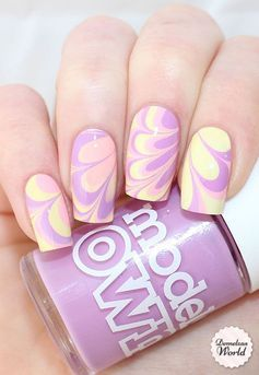 Taking a look at water marble nail artwork you appear to suppose it's very tough and sophisticated to color. The reality is it's simpler than you assume! All you want is the correct tools and you're good to go!