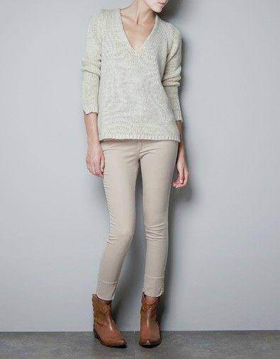 Чудо-пуловер с ажурной спинкой | Клубок