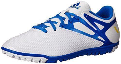 adidas Performance Men's Messi 15.3 Soccer Shoe, White/Prime Blue, 12.5 M US  #12.5'' #15.3 #Adidas #Blue #Men's #Messi #Performance #Shoe #Soccer #White/Prime boisestategear.com