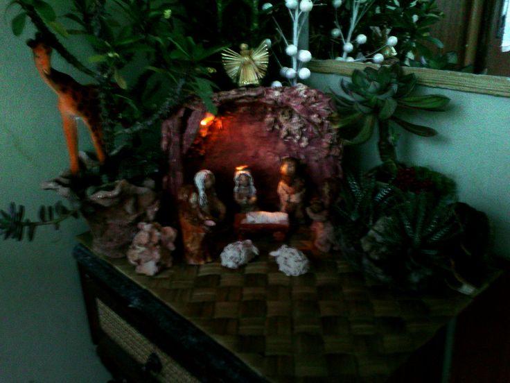keramický betlém
