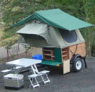 Camping gear, equipment and gadgets......box camper kits or complete trailer