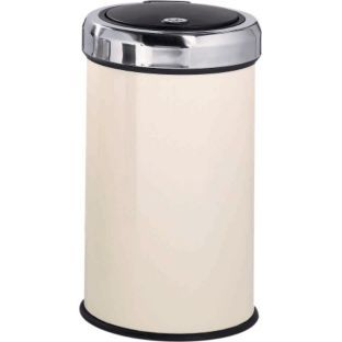 Buy 50 Litre Touch Top Kitchen Bin - Cream at Argos.co.uk - Your Online Shop for Kitchen bins.