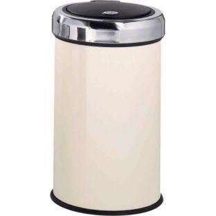 Buy 50 Litre Touch Top Kitchen Bin - Cream at Argos.co.uk - Your Online Shop for Kitchen bins.