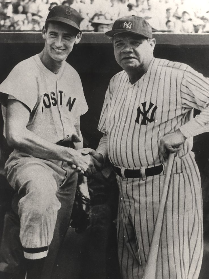 the legend of babe ruth Rare footage from 80 years ago has emerged showing baseball legend babe ruth larking around 'like a kid' wearing a boy's cowboy hat and sitting on a pony.