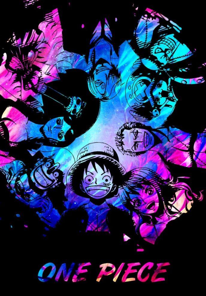 One Piece Star Metal Poster Fujiwara Displate In 2020 One Piece Anime One Piece Wallpaper Iphone One Piece Manga