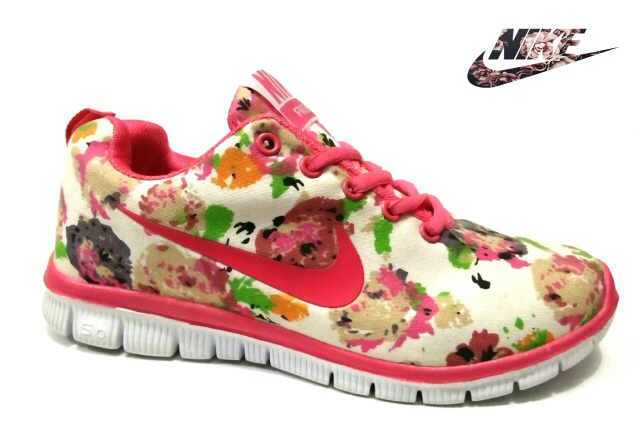 Sepatu Nike Free Flower (1)