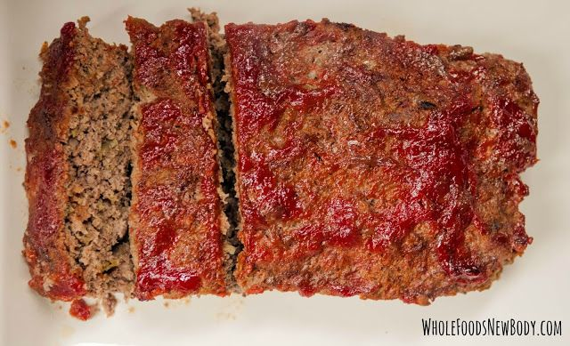 {Clean Eating Classic Meatloaf}