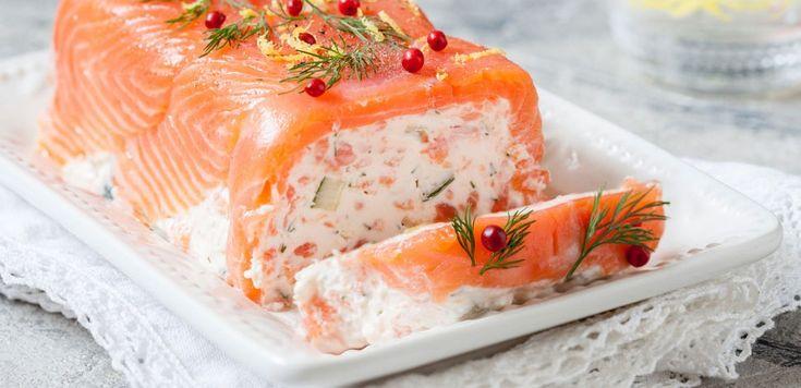 La ricetta natalizia del tronchetto di Natale al salmone, farà felici tutti i vostri ospiti porterete in tavola questa delizia!