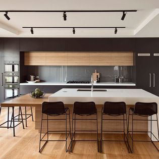 1099 best kitchens images on pinterest kitchens white for Kitchen dining hall design