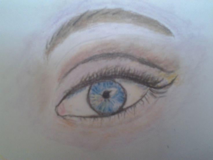 első szem rajzom